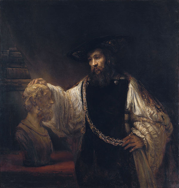 600px-Rembrandt_-_Aristotle_with_a_Bust_of_Homer_-_WGA19232