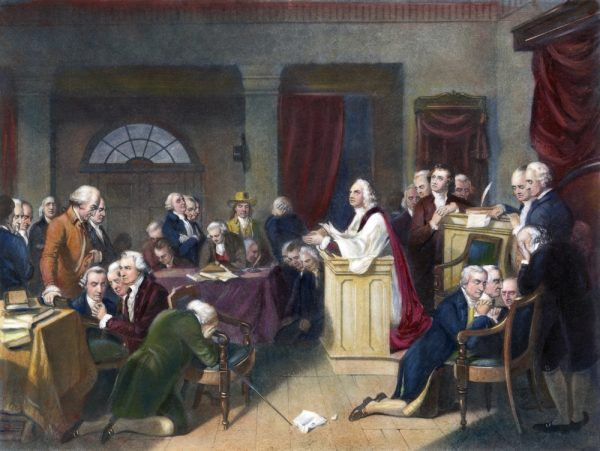 The Founding and the Right